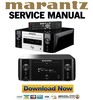 Thumbnail Marantz Melody MCR610  M-CR610 Service Manual and Repair Guide