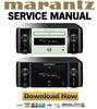Thumbnail Marantz Melody MCR611 M-CR611 Service Manual and Repair Guide