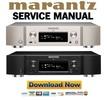 Thumbnail Marantz NA6005 Service Manual and Repair Guide