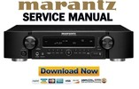Marantz NR1402 Service Manual and Repair Guide