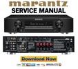 Marantz NR1403 Service Manual and Repair Guide