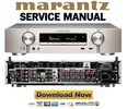 Thumbnail Marantz NR1506 Service Manual and Repair Guide