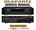 Thumbnail Marantz NR1601 Service Manual and Repair Guide