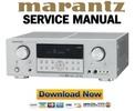 Thumbnail Marantz SR4001 Service Manual and Repair Guide