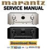 Marantz SR5009 Service Manual and Repair Guide