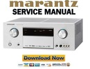 Thumbnail Marantz SR6001 Service Manual and Repair Guide