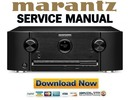 Thumbnail Marantz SR6008 Service Manual and Repair Guide