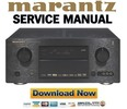 Thumbnail Marantz SR7001 Service Manual and Repair Guide