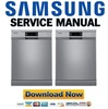 Thumbnail Samsung DW FN320T Dishwasher Service Manual and Repair Guide