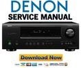 Thumbnail Denon AVR-1312 + 1312XP Service Manual & Repair Guide