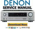 Thumbnail Denon AVR-1404 + 484 Service Manual & Repair Guide