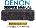 Thumbnail Denon AVR 1602 + 682 Service Manual & Repair Guide