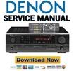 Thumbnail Denon AVR-1603 + 683 Service Manual & Repair Guide