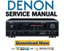 Thumbnail Denon AVR-1604 + 684 Service Manual & Repair Guide