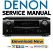 Thumbnail Denon AVR-1611 1621 591 Service Manual & Repair Guide