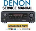 Thumbnail Denon AVR-1705 + 685 Service Manual & Repair Guide