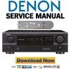 Thumbnail Denon AVR 1707 + 1507 Service Manual & Repair Guide