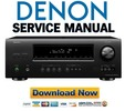 Thumbnail Denon AVR-1712 Service Manual & Repair Guide