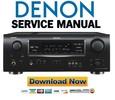 Thumbnail Denon AVR-1908 + 788 Service Manual & Repair Guide