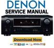 Thumbnail Denon AVR-1909 789 AVC-1909 Service Manual & Repair Guide