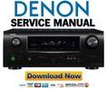 Thumbnail Denon AVR-1910 1620 1610 790 590 Service Manual & Repair Guide