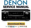 Thumbnail Denon AVR-1911 + 791 receiver service manual.pdf