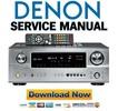 Thumbnail Denon AVR-2105 885 AVC-1809 Service Manual & Repair Guide