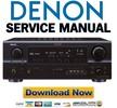 Thumbnail Denon AVR-2106 + 886 Service Manual & Repair Guide