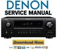 Denon AVR-2112CI + 1912 Service Manual & Repair Guide