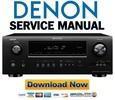 Thumbnail Denon AVR-2112CI + 1912 Service Manual & Repair Guide