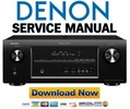 Thumbnail Denon AVR-2113CI + 1913 Service Manual & Repair Guide