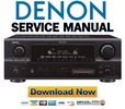 Thumbnail Denon AVR-2307CI 2307 887 Service Manual & Repair Guide