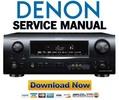 Thumbnail Denon AVR-2308CI 2308 AVC-2308 Service Manual & Repair Guide