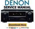 Thumbnail Denon AVR-2309CI + 889 Service Manual & Repair Guide
