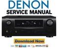 Thumbnail Denon AVR-2310CI 2310 890 AVC-2310 Service Manual & Repair Guide