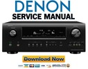 Thumbnail Denon AVR-2312CI 2312 Service Manual & Repair Guide