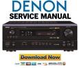 Thumbnail Denon AVR-2801 + 981 Service Manual & Repair Guide