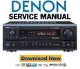 Thumbnail Denon AVR-2803 983 + AVC-2870 Service Manual & Repair Guide