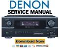 Thumbnail Denon AVR-2805 985 + AVC-2890 Service Manual & Repair Guide