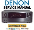 Thumbnail Denon AVR-2807 Service Manual & Repair Guide