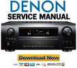 Thumbnail Denon AVR-2808CI + 988 Service Manual & Repair Guide