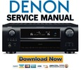 Thumbnail Denon AVR-2809CI 2809 Service Manual & Repair Guide