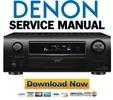 Thumbnail Denon AVR-3310CI 3310 990 + AVC-3310 Service Manual & Repair Guide
