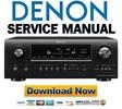 Thumbnail Denon AVR-3312CI + 3312 Service Manual & Repair Guide