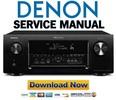 Thumbnail Denon AVR-3313CI + 3313 Service Manual & Repair Guide