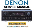 Thumbnail Denon AVR-3803 1083 + AVC-3570 Service Manual & Repair Guide