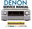 Thumbnail Denon AVR-4306 Service Manual & Repair Guide