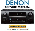 Thumbnail Denon AVR-4310CI + 4310 Service Manual & Repair Guide