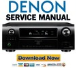 Thumbnail Denon AVR-4311CI + 4311 Service Manual & Repair Guide