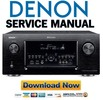 Thumbnail Denon AVR-4520CI + 4520 Service Manual & Repair Guide